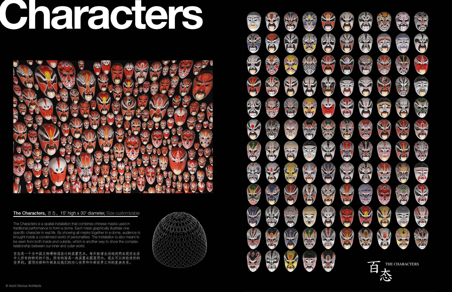 Chinese Opera, 京劇, 京劇面譜, installation, mask