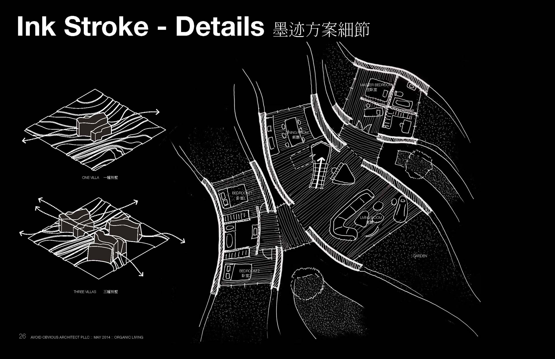 Ink Stroke Villa Avoid Obvious Architects