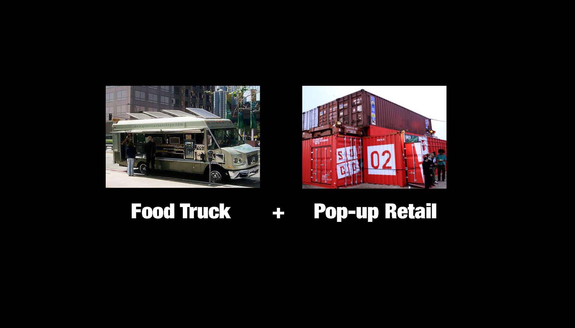 mobile shop, food truck, pop-up, retail