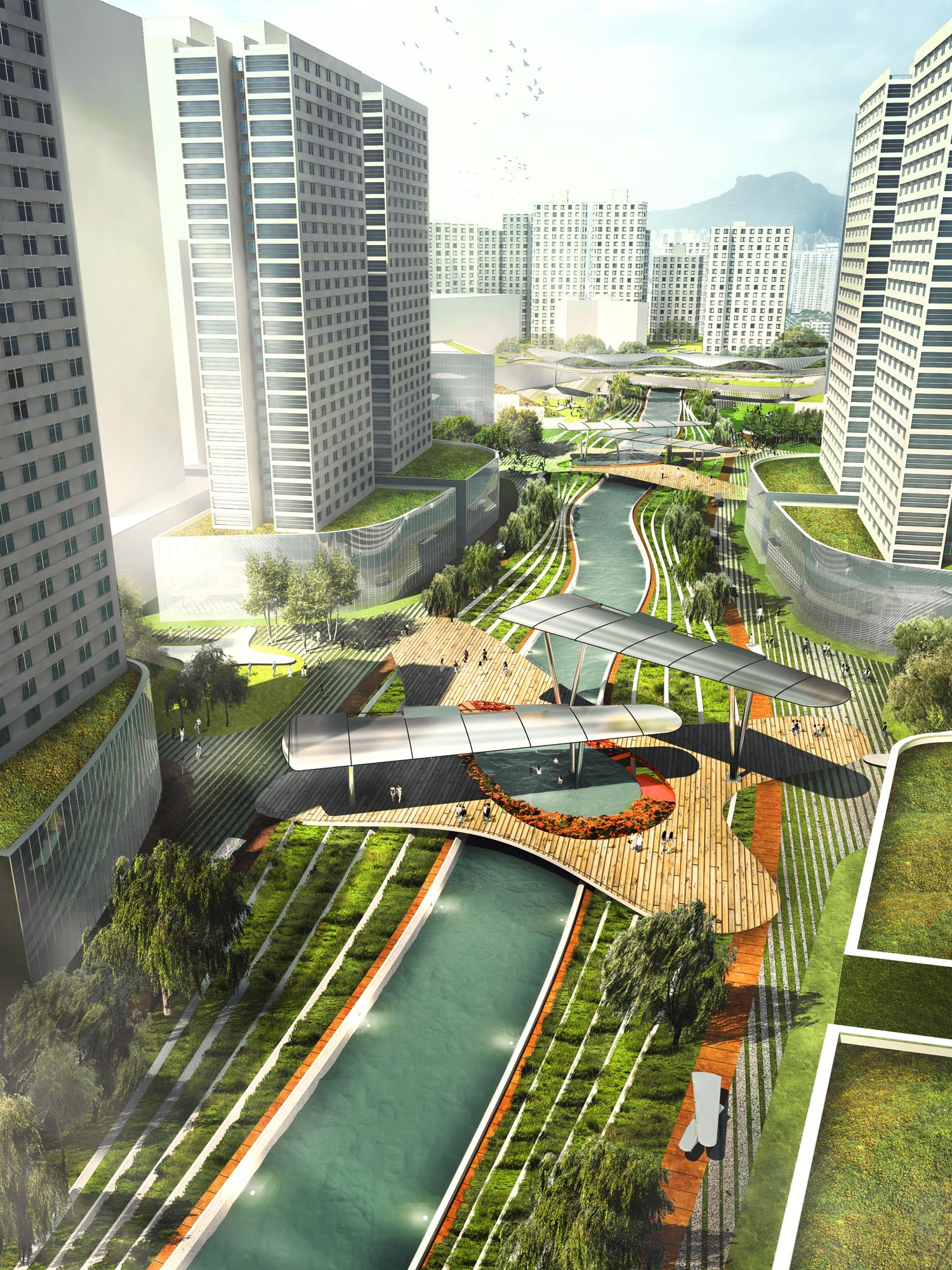 Upcycle Park Kai Tak River Avoid Obvious Architects