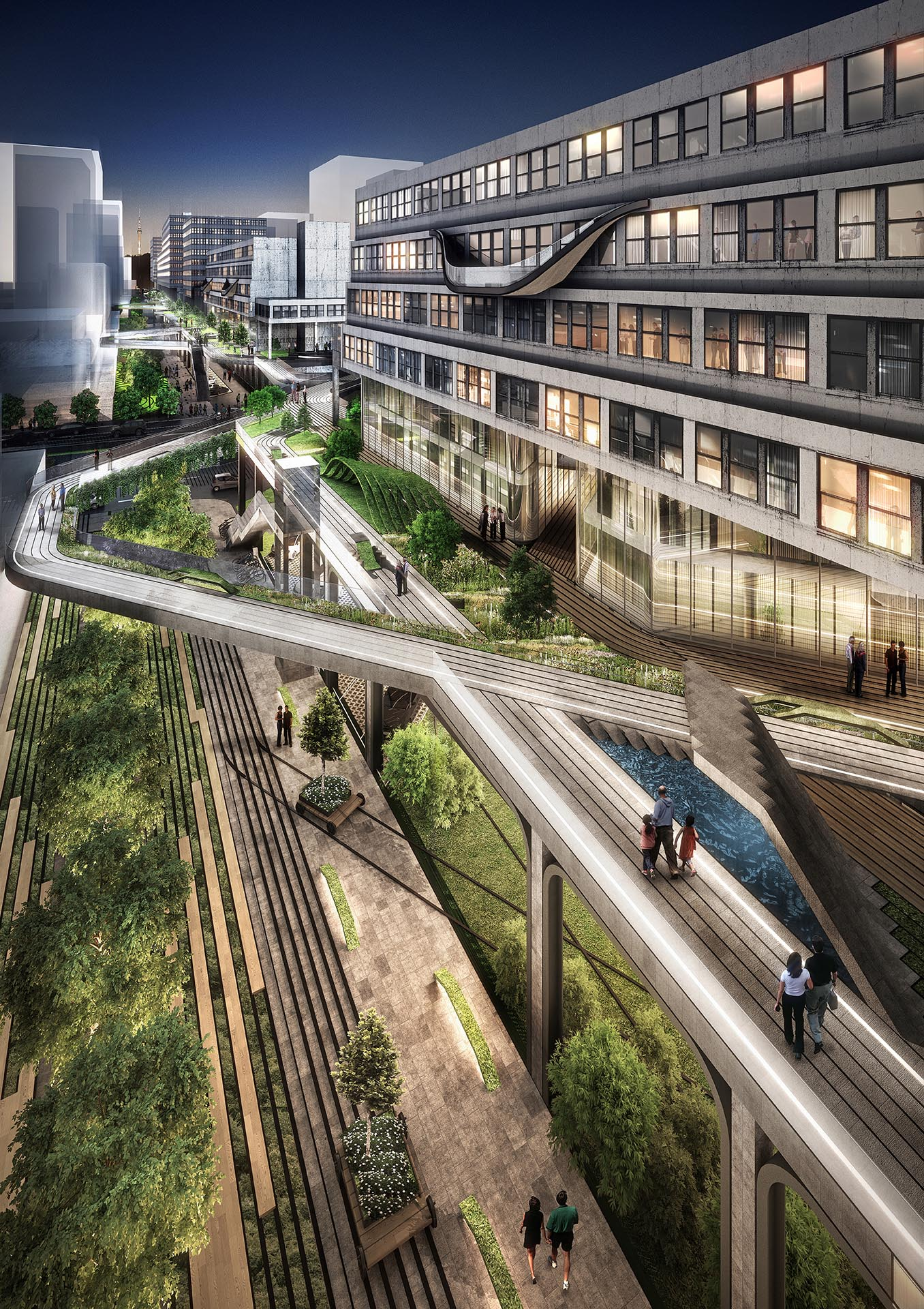 Seun city walk, Seunsangga, Seun, high line in Korea, 3d print landscape, urban planning, retrofit, factory rehab, seoul, greenwalk, elevated park, sustainable design, architecture, hipster, business evolution