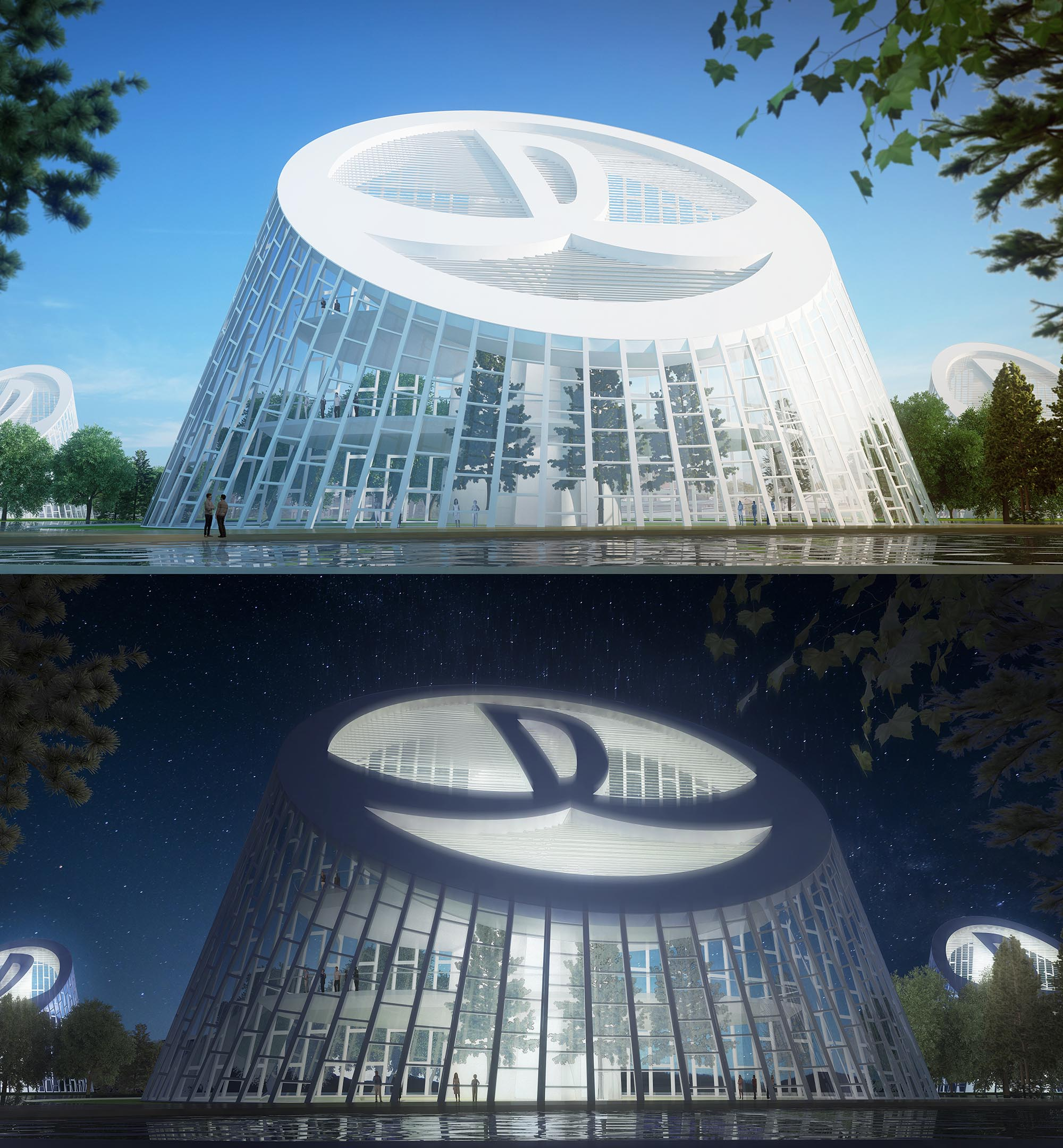 wanda; pavilion; avoid obvious; architecture; green building; futuristic; sustainable; leed; design