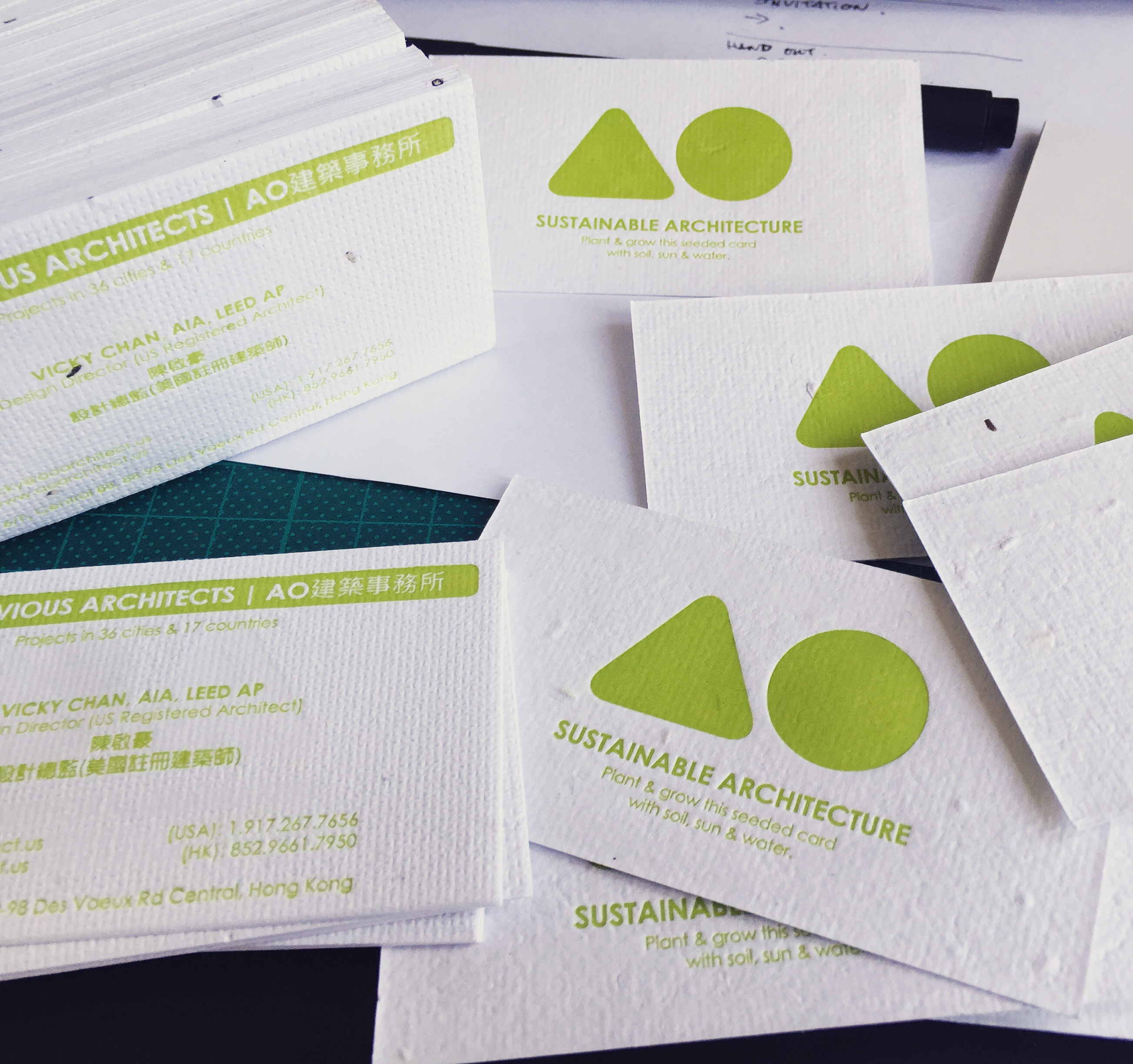 Flower cards avoid obvious architects flower cards cards with seeds plants business cards graphic sustainable colourmoves