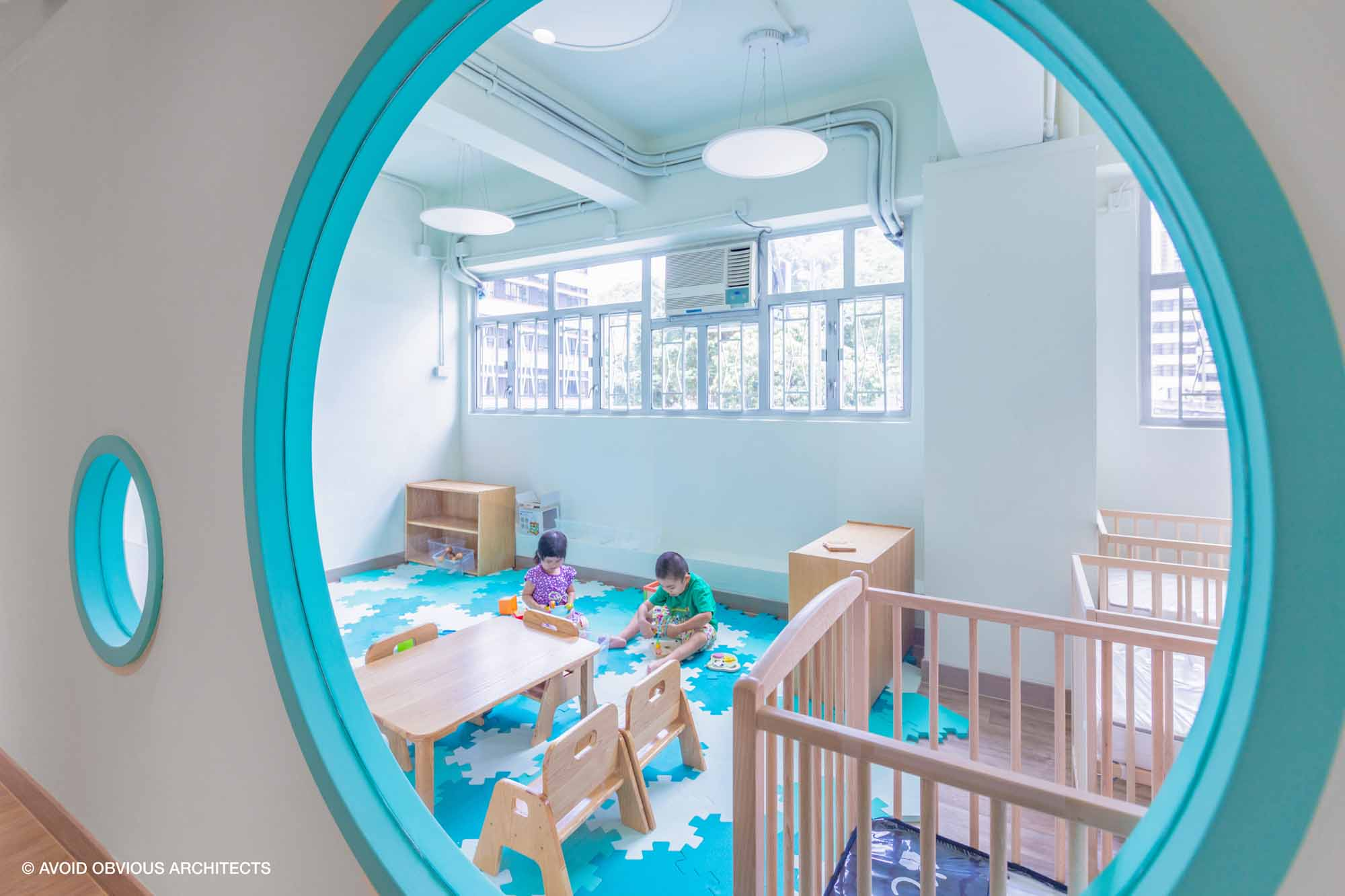 avoid obvious, architects, vicky chan, AOA, onesky, education center, school, pre-k, kindergarten, k-12, design, non-profit, hong kong, interactive, design, learning, early childhood, ngo, children design, play design, creative, play, reggio emilia,